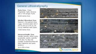 TGDG Talk 4: Bill Pearson (Coastal Gold) Enhanced exploration targeting at Hope Brook, Newfoundland