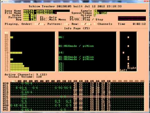 Mental Psychosis by Kxmode and Pinion [Phluid Music] (1996 Impulse Tracker)