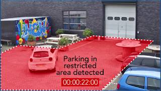 Bosch Security - Enforcing no-parking zones with Essential Video Analytics