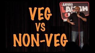 Video Vegetarians Vs Non-Vegetarians | Stand up Comedy by Nishant Tanwar MP3, 3GP, MP4, WEBM, AVI, FLV Desember 2017
