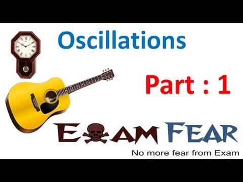 oscillation - Physics Oscillations part 1 (Introduction) CBSE class 11.