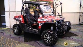 5. 2016 HiSun Strike 1000 Side By Side ATV - Walkaround - 2015 AIMExpo Orlando