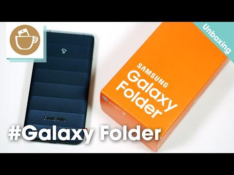 Samsung Galaxy Folder Unboxing (갤럭시 폴더 개봉기)