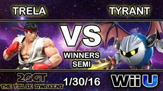 An amazing set showing why they're known for their char: SU | Trela (Ryu) vs NME | Tyrant (MK)
