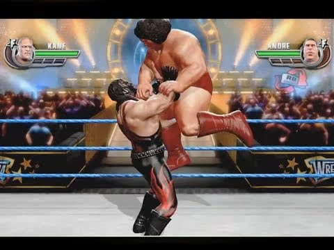 WWE All Stars: Masked Kane vs Andre the Giant - MONSTER FULL MATCH