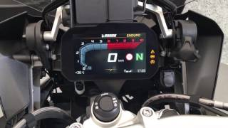10. BMW R1200GS new 2018 dashboard zegary