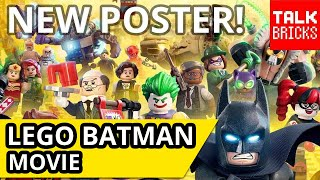 LEGO Batman Movie NEW Poster & Full Character Breakdown! NEW CHARACTERS REVEALED!