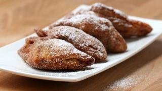 Fried Cinnamon Roll  Apple Turnovers by Tasty