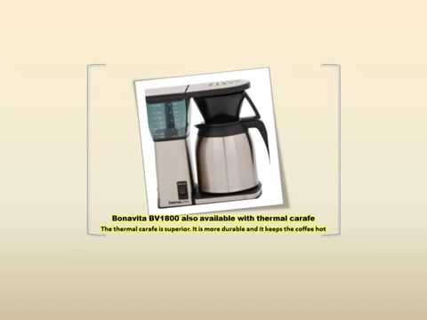 Bonavita BV1800 Coffee Maker Review and Deals