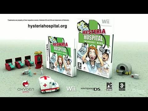 Hysteria Hospital: Emergency Ward Nintendo Wii