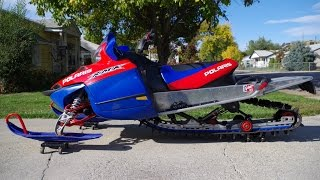 6. FOR SALE 2006 Polaris RMK 600 Snowcheck Edition Snowmobile Sled 3,709 Well Cared For Miles! $3,499!