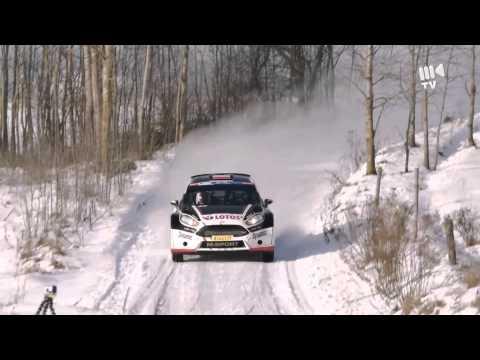 Kajetan Kajetanowicz - testy przed Rally Liepāja 2015