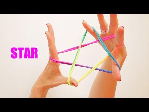 STRING TRICKS: THE STAR! String Figure Step By Step - Ztringz