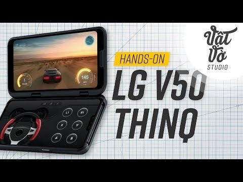 Trên tay đánh giá nhanh LG V50 ThinQ - Thời lượng: 3 phút, 5 giây.
