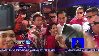 Video Presiden Jokowi Disambut Pedagang Perempuan Saat Blusukan Ke Pasar   NET12 MP3, 3GP, MP4, WEBM, AVI, FLV November 2018