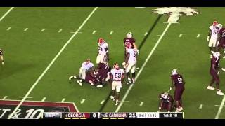 Alec Ogletree vs South Carolina (2012)