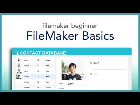 FileMaker Beginner Basics (2018)
