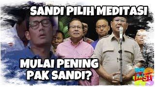 "Video Sandi Pilih Meditasi, ""Mulai Pening Pak Sandi ?"" MP3, 3GP, MP4, WEBM, AVI, FLV Oktober 2018"