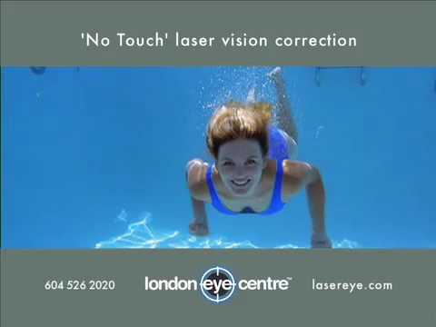 &#8216;No Touch&#8217; Laser Vision Correction Swim Video