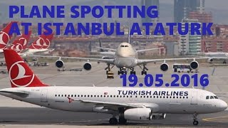 I was at Istanbul Ataturk on a National Day-May 19 and have have some fun spotting. Hope you enjoy too.