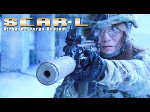laylax - 新兵として極地に配属されたばかりの彼女に支給された「SCAR-L」は極地ならではのガントラブルを想定し、各パーツの
