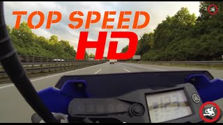 2. Top Speed - Yamaha Wr 125 x | iDriveHD