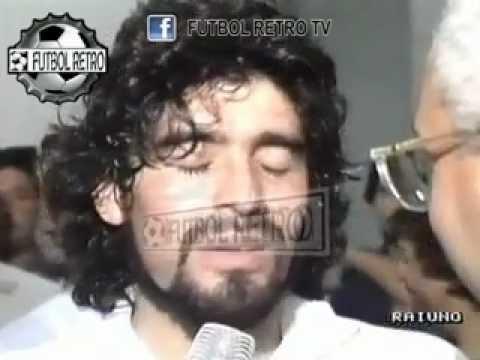 Maradona, el dia que fue suplente en Napoli con la numero 16 Serie A 1989 FUTBOL RETRO TV