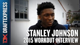 Stanley Johnson - 2015 Pre NBA Draft Interview - DraftExpress