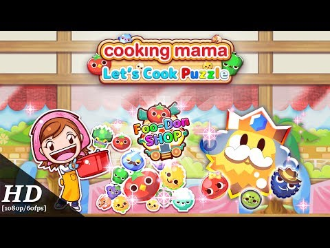 Cooking Mama Let's Cook Puzzle Android Gameplay [60fps]