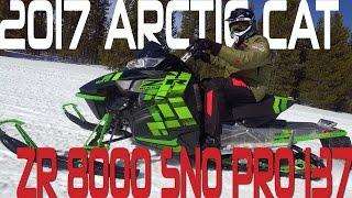 1. STV 2017 Arctic Cat  ZR 8000 Sno Pro 137
