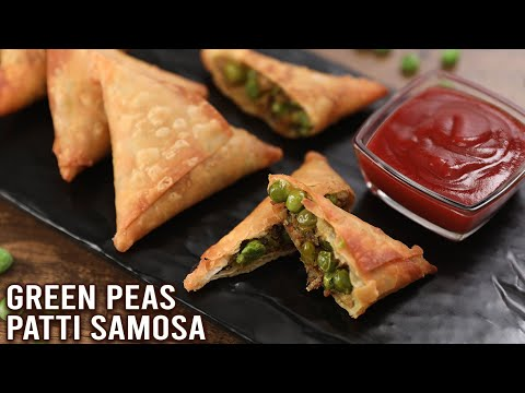 Green Peas Samosa | How To Make Samosa | Hariyali Samosa | Hari Matar Patti Samosa Recipe By Ruchi