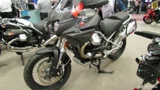 7. 2013 Moto Guzzi Stelvio 1200 NTX ABS - Walkaround - 2013 Montreal Motorcycle Show
