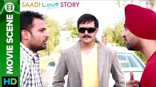 """Click Here To Watch """"Saadi Love Story"""" Full Movie - http://bit.ly/SaadiLoveStoryMovie Amrinder Gill & Diljit Dosanjh are stunned to..."""