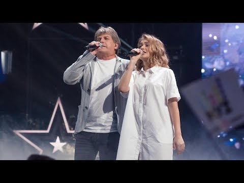 «Новая Фабрика звезд». Зина Куприянович и Алексей Глызин - «Зимний сад»