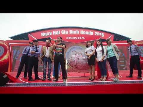 Danh hài Xuân Bắc làm MC tại Honda
