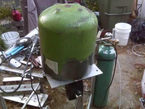 Rocket stove homemade