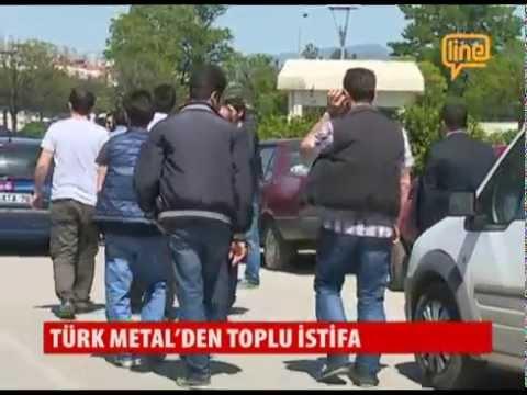 Türk Metal'den Toplu İstifa   12 Mayıs 2015