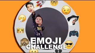 Video EMOJI CHALLENGE With Qahtan Halilintar MP3, 3GP, MP4, WEBM, AVI, FLV April 2019