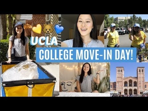 UCLA MOVE-IN DAY VLOG! (Freshman Edition: Moving to College & Unpacking)