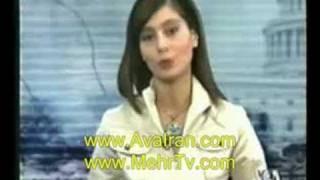 لونا شادزی گوینده رادیو صدای امریکا و سیاوش اوستا عباسی