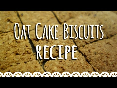 Oatcake Biscuit Recipe: Healthy, Easy & Quick savoury oatmeal cookies