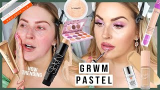 on trend PASTEL PURPLE grwm! 🐰 chill easter vibes & chats by Shaaanxo