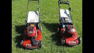 5. Toro Recycler SmartStow Model 20339 & Toro Personal Pace Model 20334 Comparison - April 20, 2018