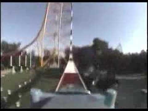 「[恐怖]まさに失禁モノ。スリルだけを切り取ったジェットコースター「トップ・スリル・ドラッグスター」」のイメージ
