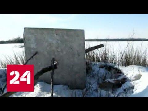 Украинские военные приняли за тяжелое вооружение палки (видео)