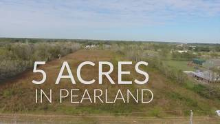 5 ACRES IN PEARLAND TX FOR SALE
