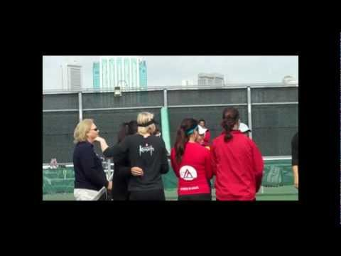 Art U vs. Cal State L.A. Women's Tennis