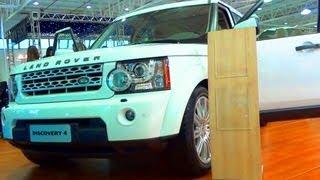 SHOWROOM 2013 Land Rover Discovery 4 @ Salão Do Automóvel De Curitiba