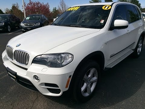 2011 BMW X5 xDrive50i (Start Up, In Depth Tour, and Review)