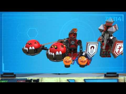 Конструктор Устрашающий разрушитель Клэя - LEGO NEXO KNIGHTS - фото № 11